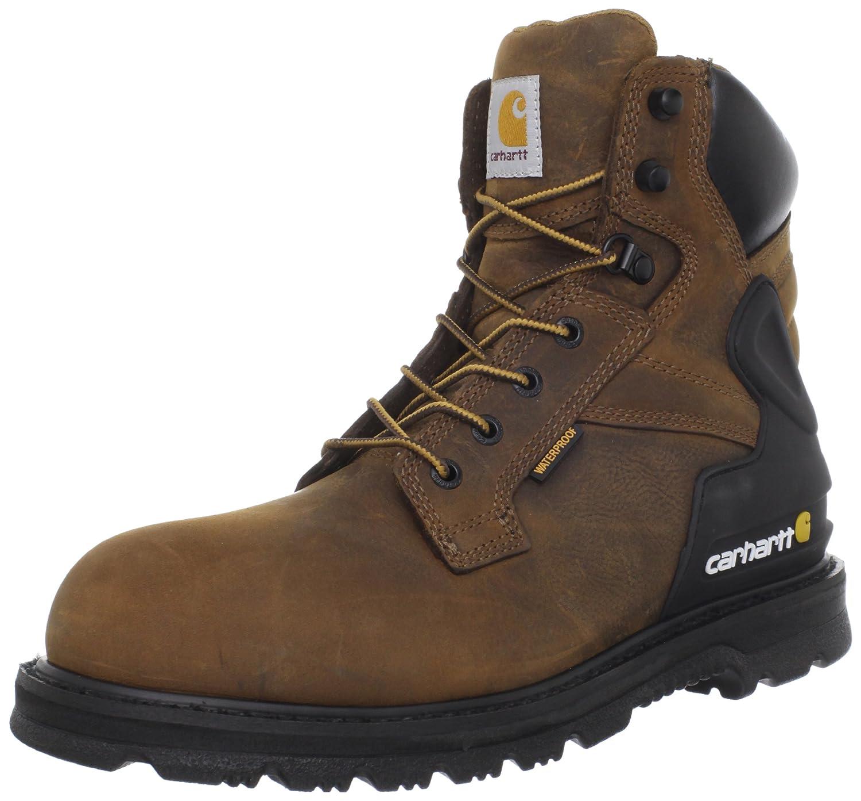 Mens Soft toe Lace Up Safety Shoes B0071NPUWM 10.5 D(M) US|Bison Brown Bison Brown 10.5 D(M) US
