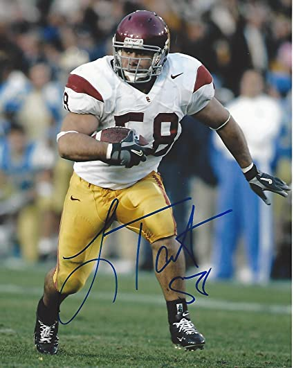 3726b4a7f Image Unavailable. Image not available for. Color  Lofa Tatupu Autographed  ...