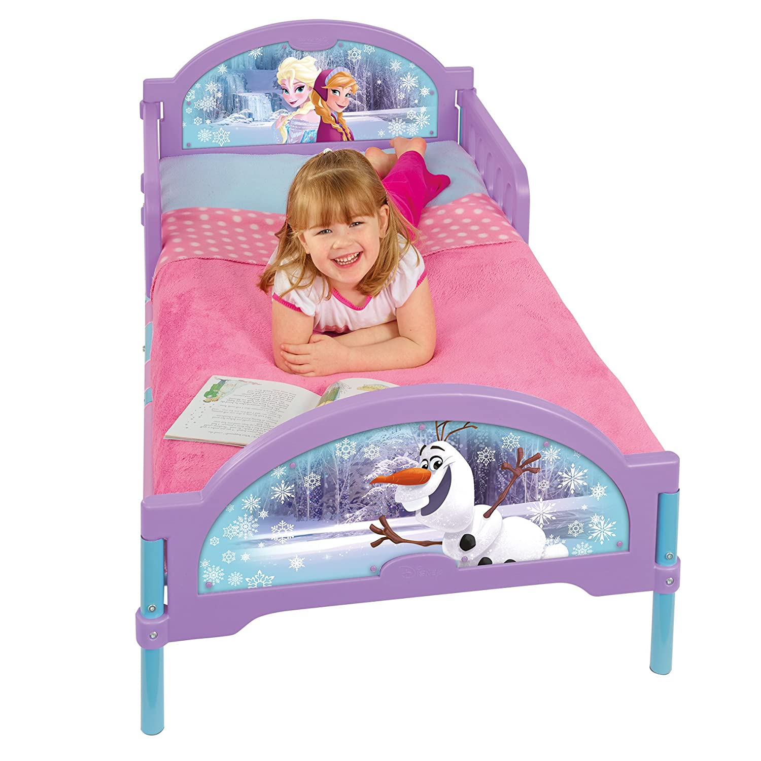 Disney Frozen Toddler Bed by HelloHome Worlds Apart 455FZN