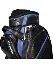 Motor Caddy Golf Cart Bag Bag Waterproof Material And Dry Pocket - Black/Blue