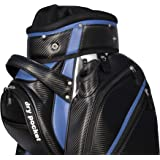 Hippo Golf Cart Bag Bag Waterproof Material And Dry Pocket - BLACK/BLUE