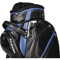 Motor Caddy Golf Cart Bag Bag Waterproof Material And Dry Pocket - Black/Blue