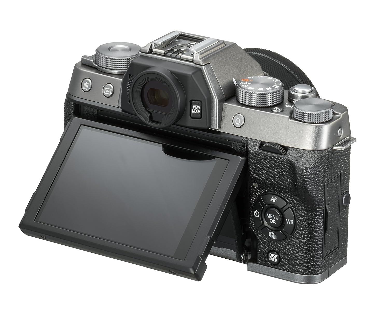 033fb21c4be09 Fujifilm X-T100 Dark Silver with Black XC15-45mm lens: Amazon.co.uk: Camera  & Photo