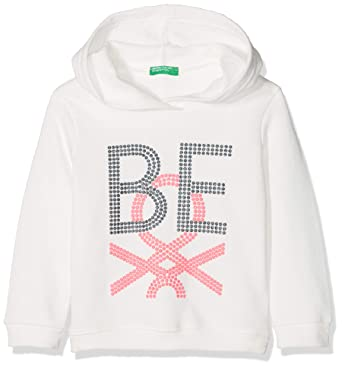United Colors of Benetton Sweater W/Hood, suéter para Niñas: Amazon.es: Ropa y accesorios