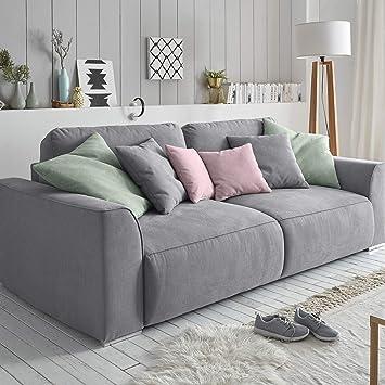 Riess Ambiente Big Sofa Weekend Grau Schlaffunktion Mit Bettkasten