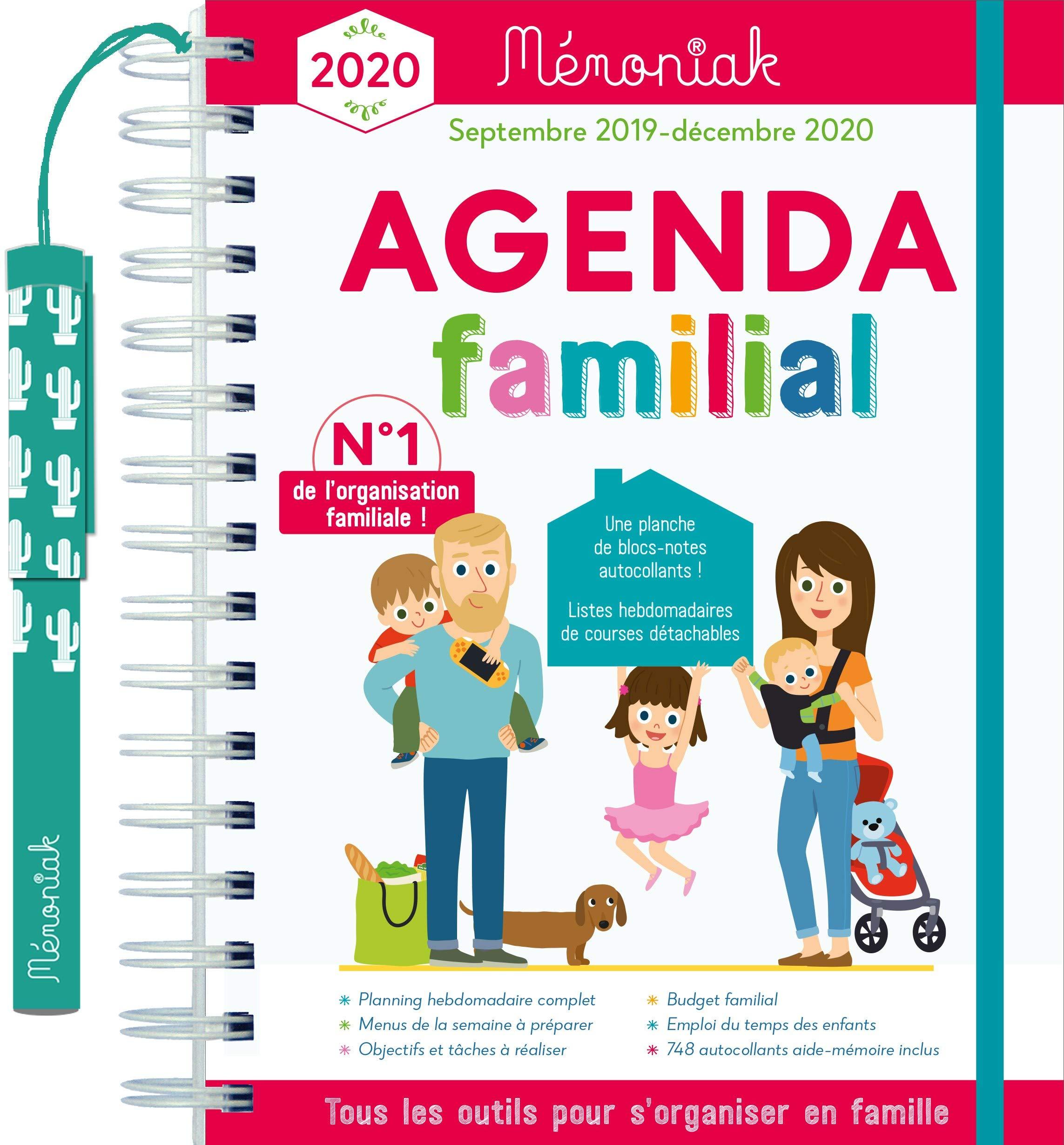 Agenda familial Mémoniak (Le Mémoniak): Amazon.es: Editions ...