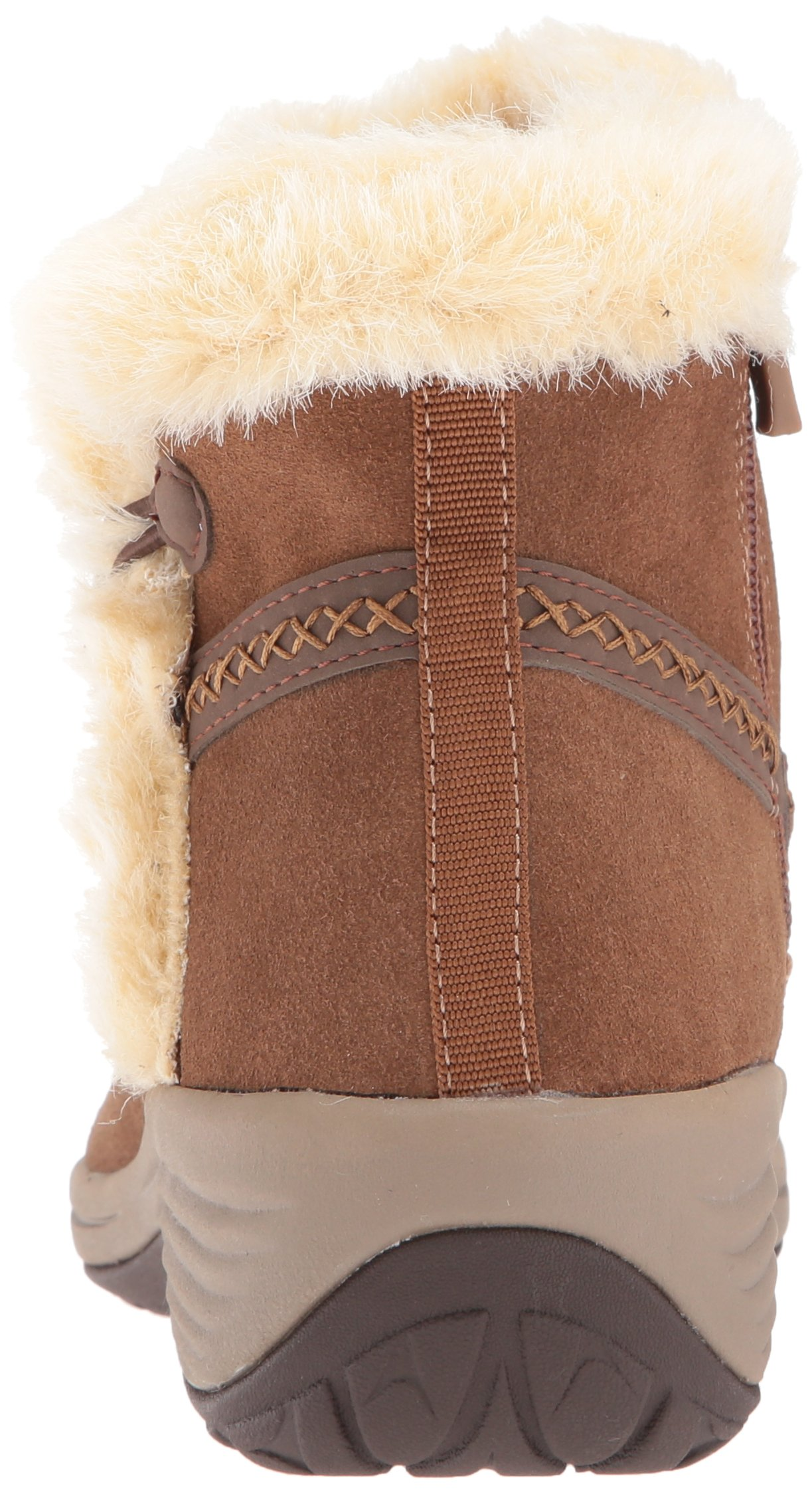 Easy Spirit Women's Icerink Ankle Bootie, Dark Natural Multi Suede, 6 W US by Easy Spirit (Image #2)