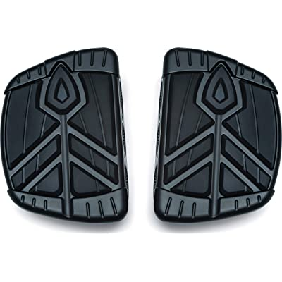 Kuryakyn 5653 Motorcycle Foot Control Component: Spear Mini Board Floorboards, Satin Black, 1 Pair: Automotive
