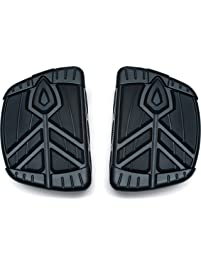 Kuryakyn 5653 Satin Black Motorcycle Foot Controls, 2 Pack