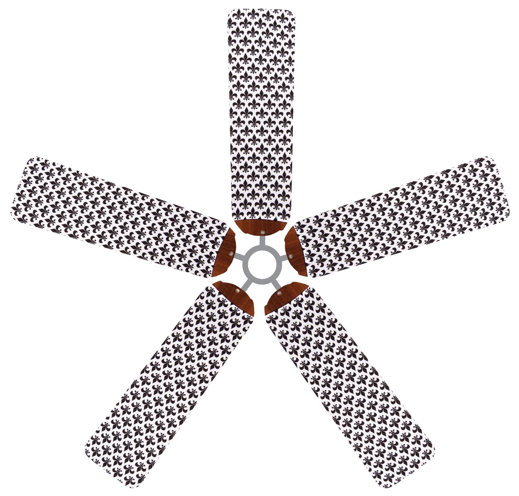 Fan Blade Designs Fleur-de-lis Ceiling Fan Blade Covers