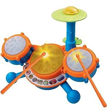 Amazon Com Vtech Kidibeats Kids Drum Set Toys Games