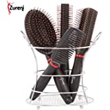 Zureni Hair Combs Combo For Unisex With Stand Pack Of 4 - (Black)