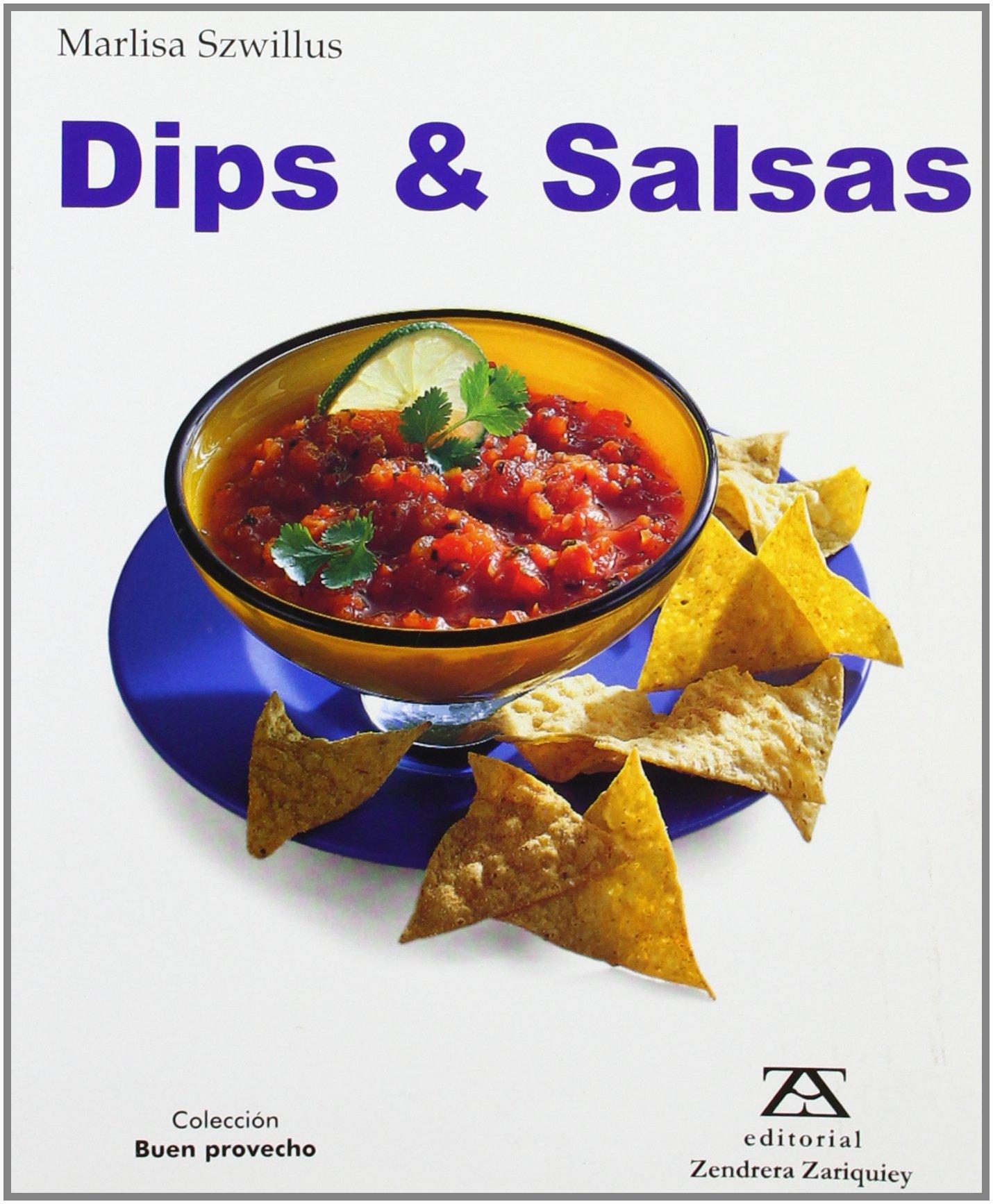 Dips Y Salsas (Spanish) Paperback