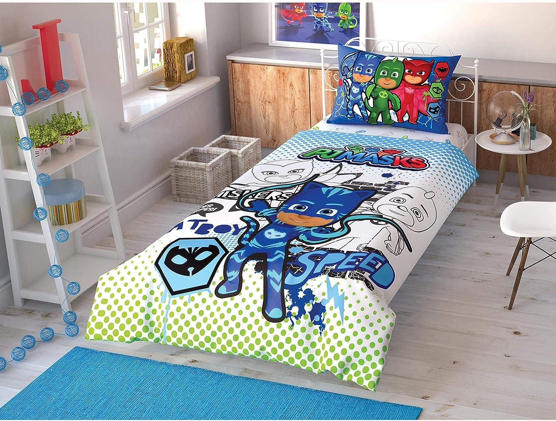 TAÇ PJ Masks Photo Shoot Animate - Ropa de cama individual ...
