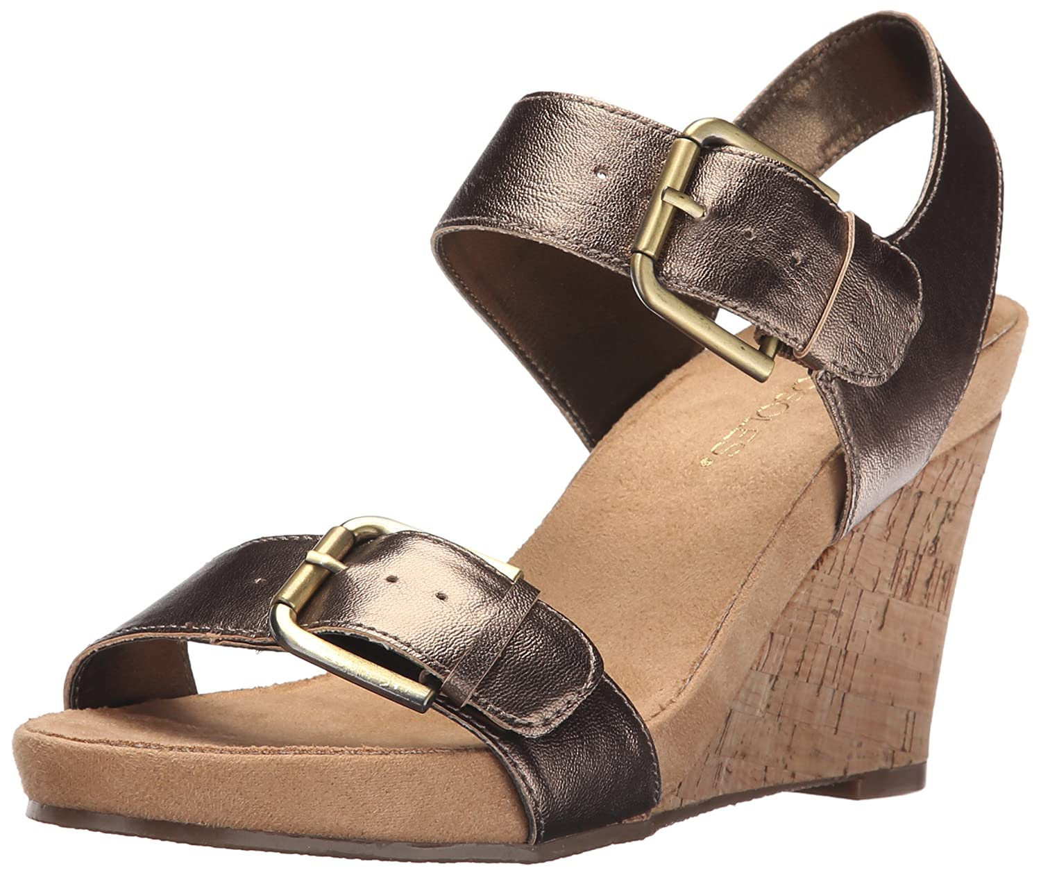 39cd5720dffb Aerosoles Women s Mega Plush Wedge Sandal