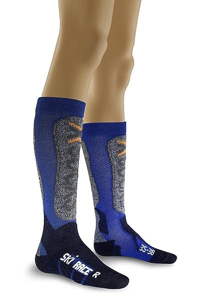 399d4d2aeb X-Socks Ski Race Junior, Calze Funzionali Unisex Bambini: Amazon.it ...