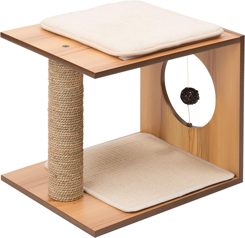 Vesper V-Stool Cat Tree Walnut