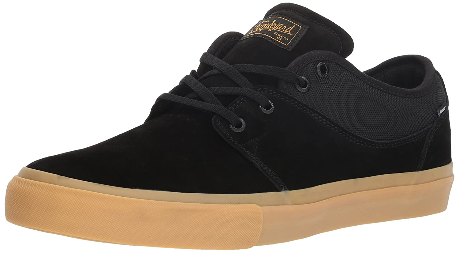 Globe Men's Mahalo Skate Shoe 8.5 M US|Black/Mid Gum