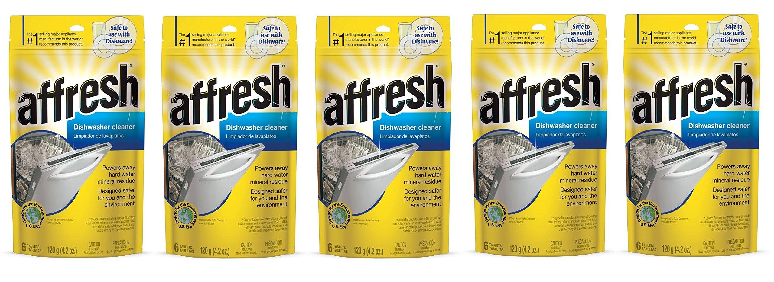 Affresh W10549850 Dishwasher Cleaner onkIkt, 30 Tablets in Pouch