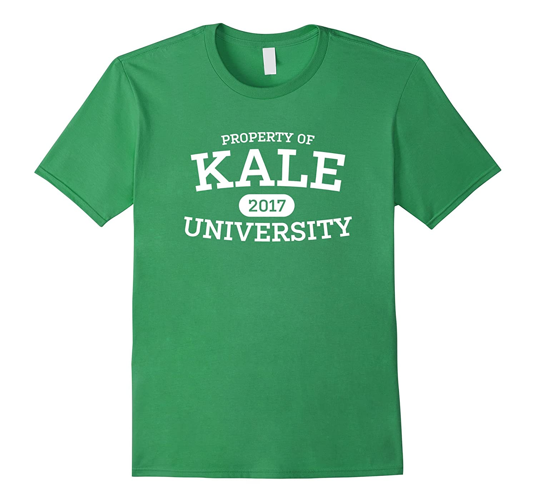 59861183b7 Funny Kale University Vegan Vegetarian T-Shirt-BN – Banazatee