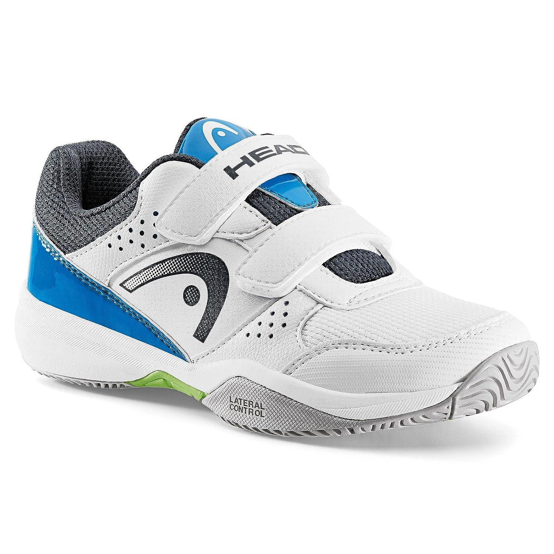 HEAD Unisex Kids' Nzzzo Velcro Junior Tennis Shoes
