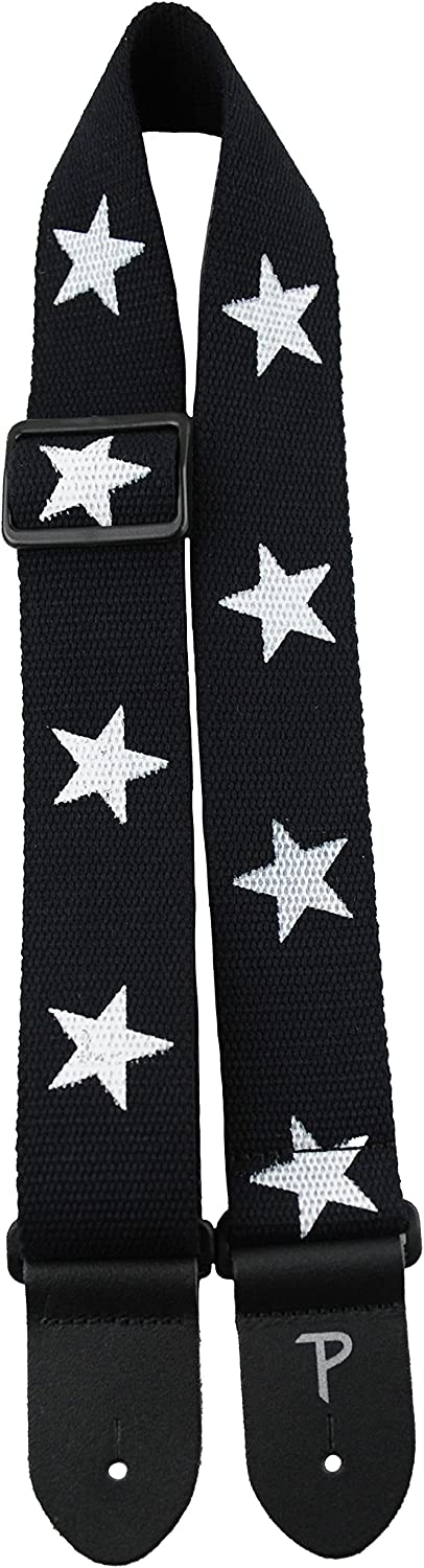 Perris Leathers Deluxe Cotton CWS20-6845 Black with Stars