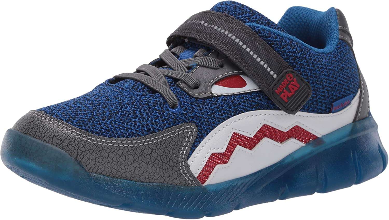 Stride Rite Kids' Lighted Shark Sneaker