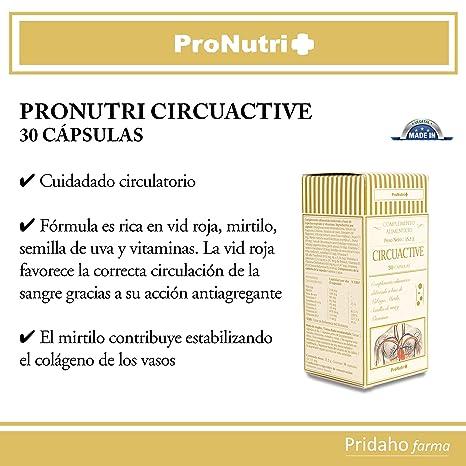 PRONUTRI - PRONUTRI Circuactive 30 cápsulas: Amazon.es: Salud y cuidado personal