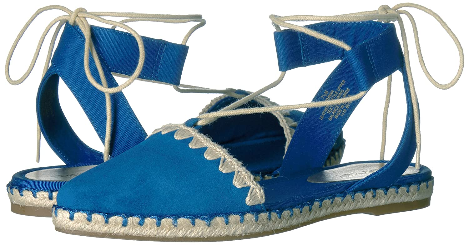Nine West Women's Unah Suede Pointed Toe US|Blue Flat B01MTOE17M 5.5 B(M) US|Blue Toe df8493