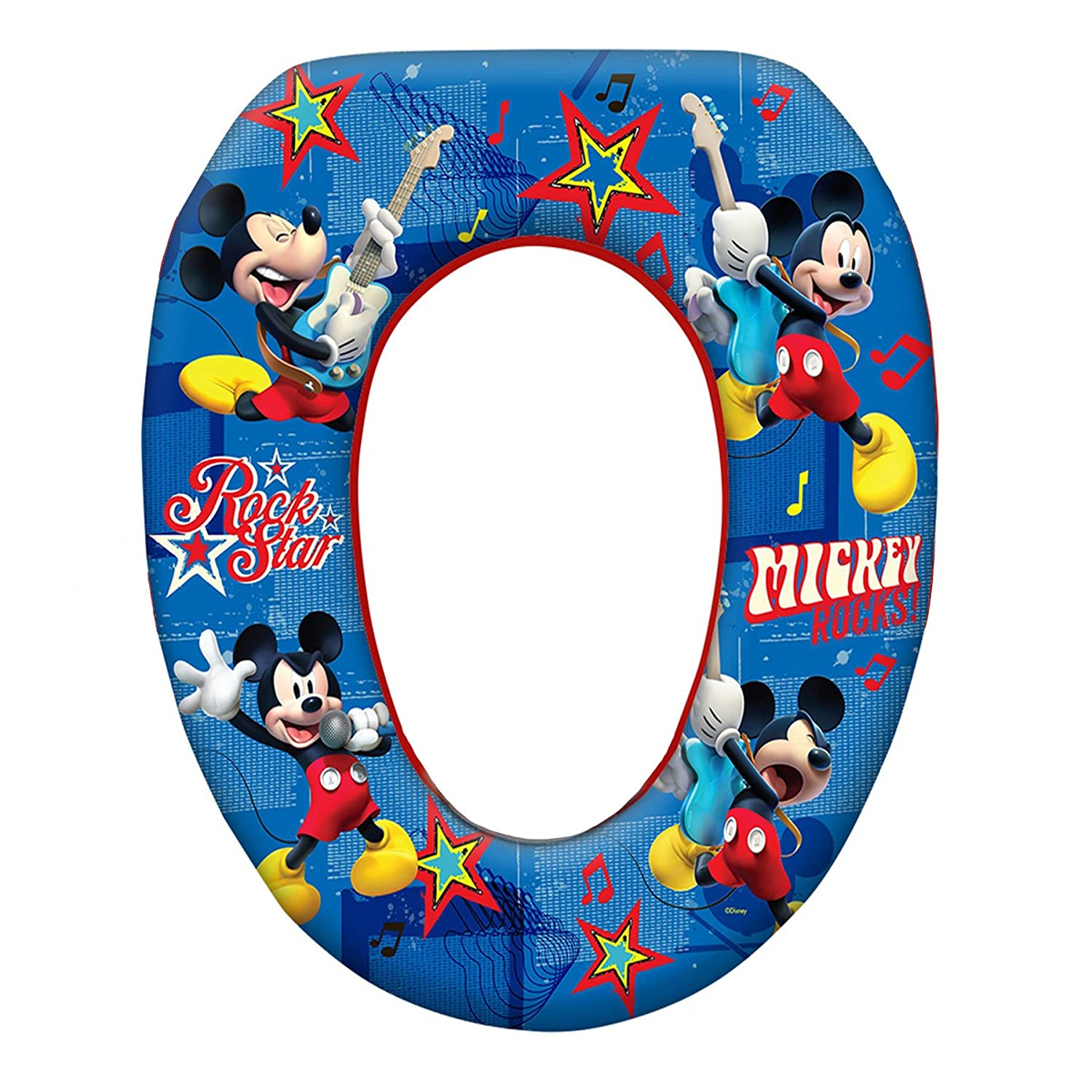 Mickey Mouse Soft Potty Seat - Rock Star