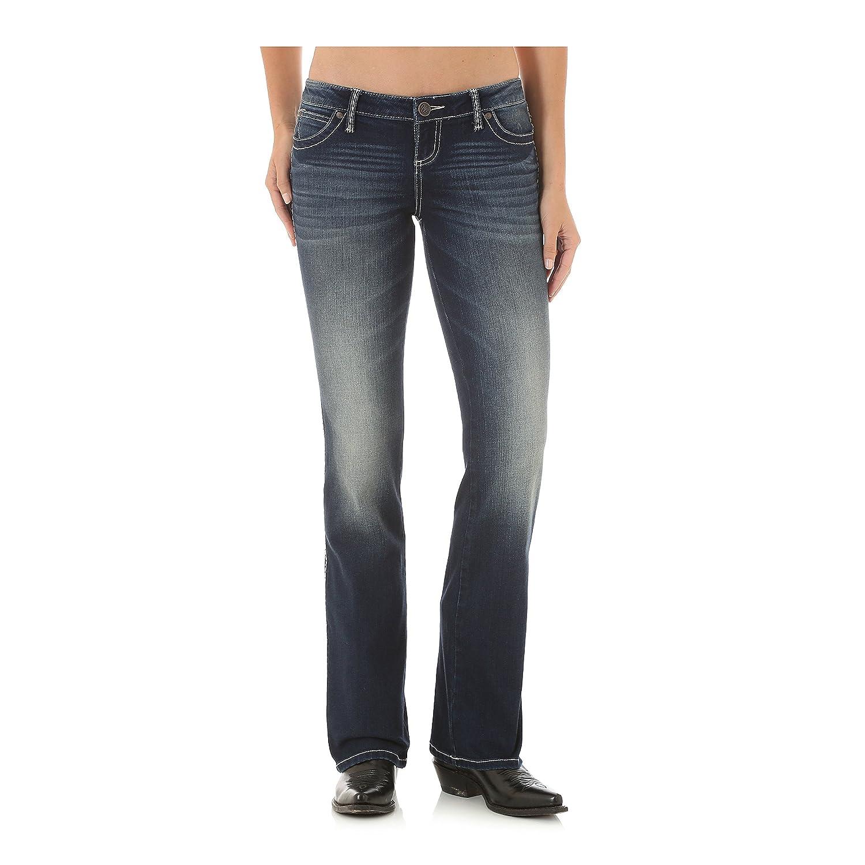 74e2c4ea Wrangler Women's Retro Sadie Low Rise Jean Boot Cut (19x34) at Amazon Women's  Jeans store