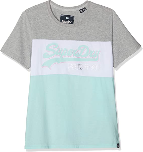 Superdry Womens The Real Festival Embroidery Entry Tee T-Shirt