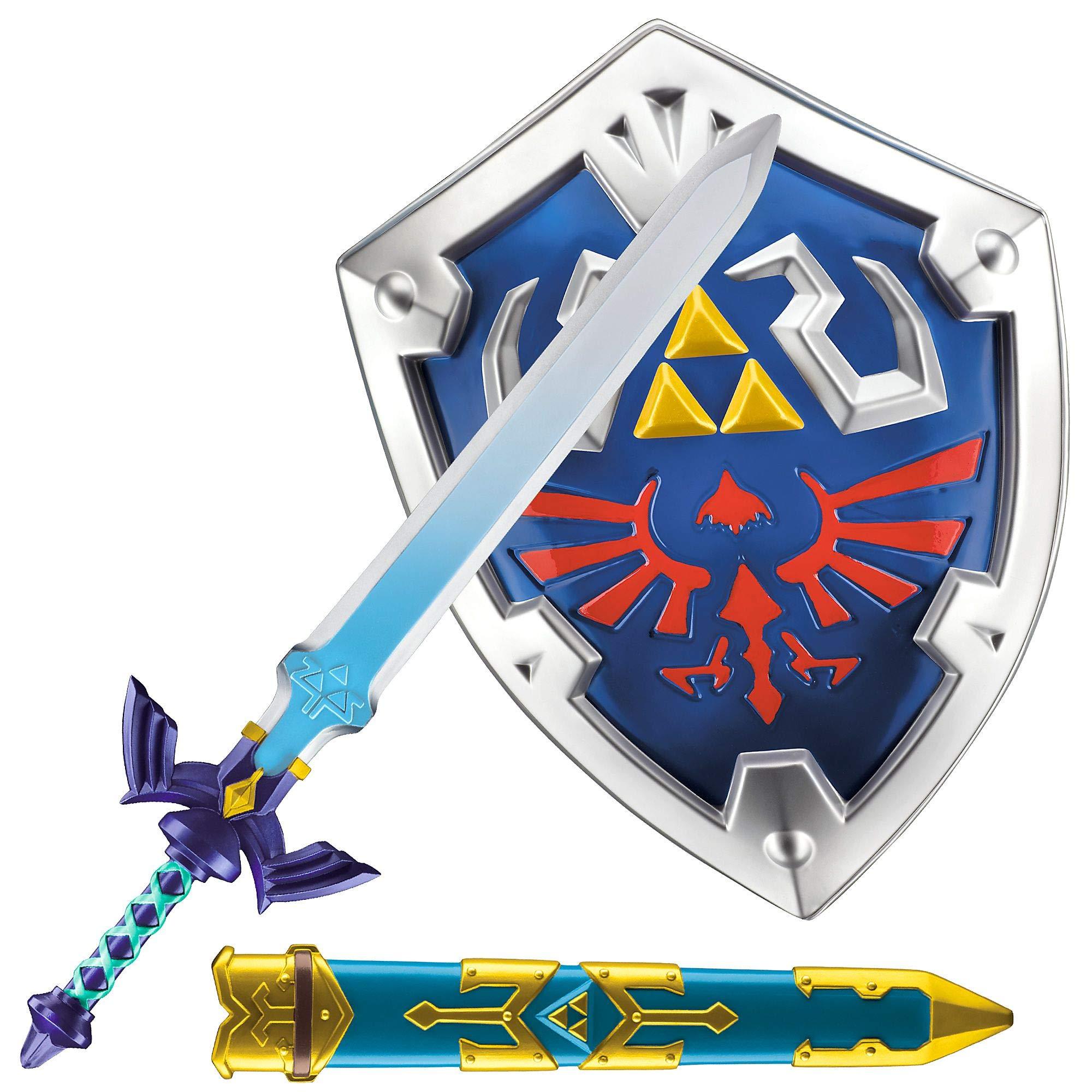 Party City The Legend of Zelda Sword & Shield Kit