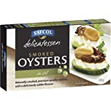 Safcol Australia Smoked Oysters in Oil 85g Cans, 8 pack