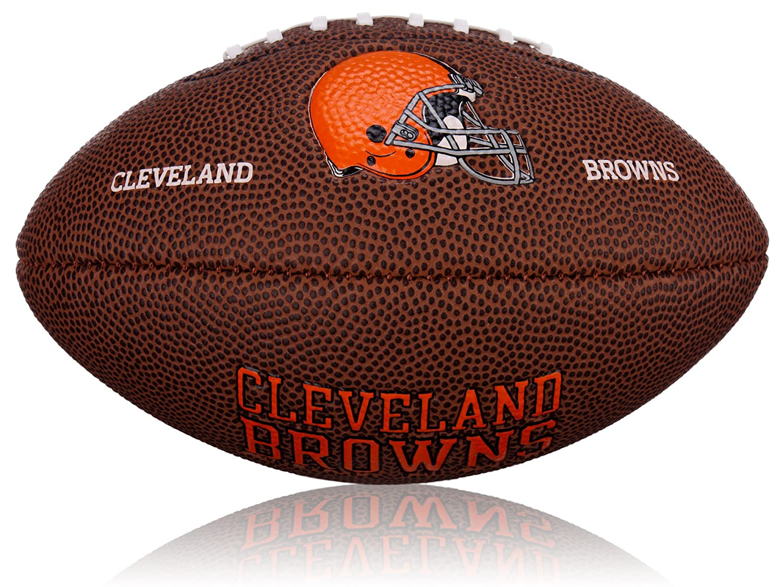Wilson Football NFL Mini Cleveland Browns Logo, marron, 2, wl0206522042