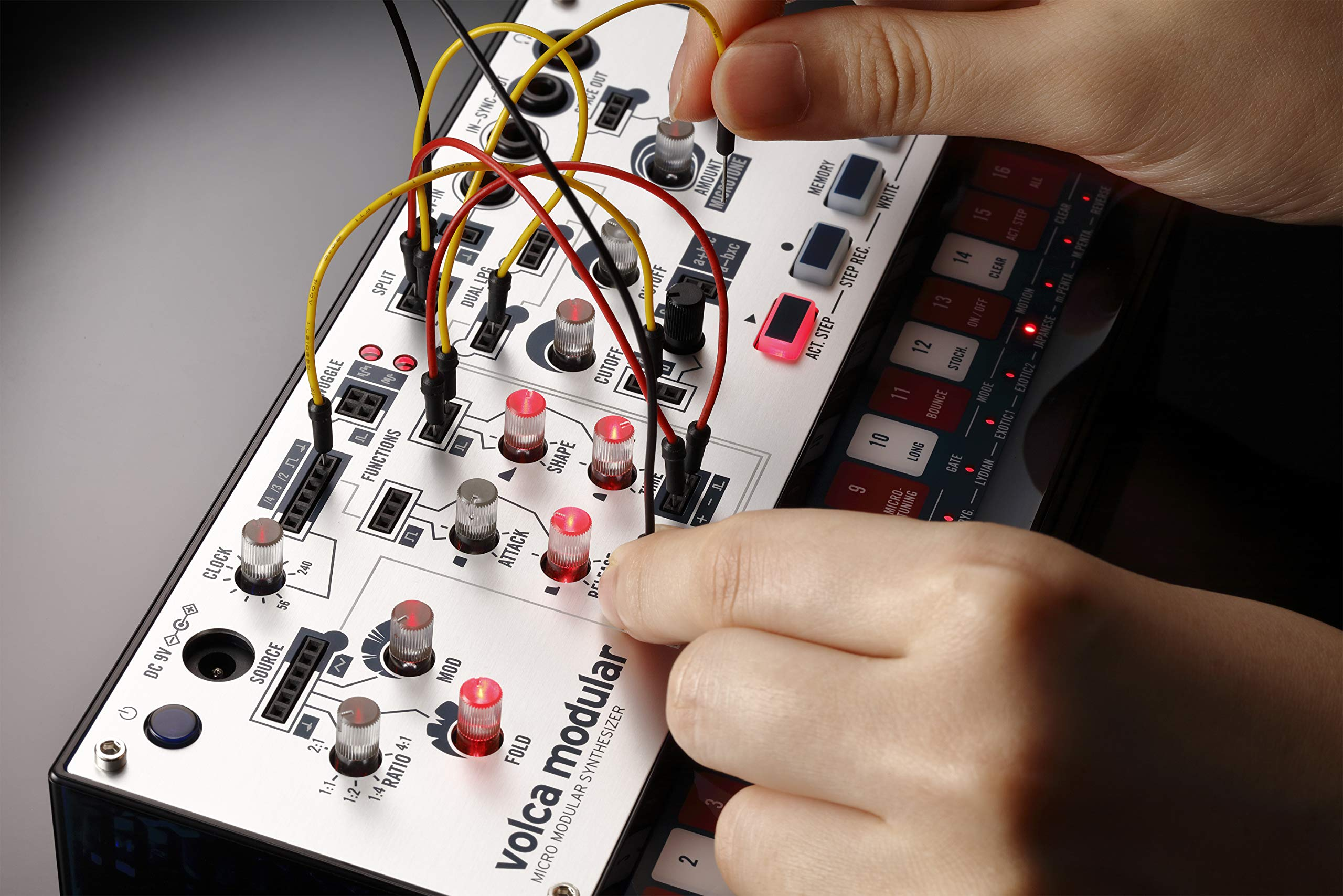 Korg Volca Modular Semi-Modular Synthesizer with Sequencer by Korg (Image #3)