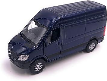 H Customs Mercedes Benz Sprinter Modellauto Auto Lizenzprodukt 1 34 1 39 Blau Auto