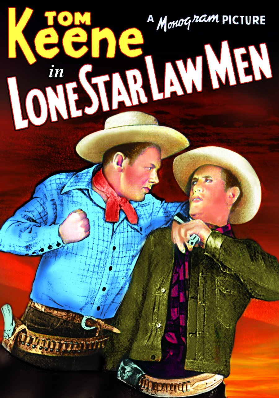 DVD : Tom Keene - Lone Star Law Men (Black & White)