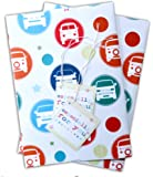 VW Wrapping Paper spot and star inspired by the VW Camper van