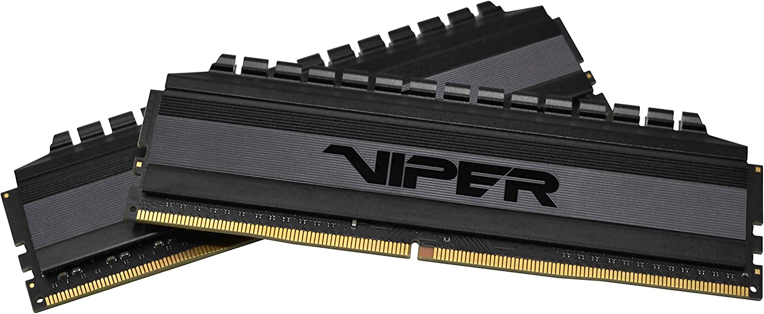 Patriot Viper 4 Blackout Series DDR4 64GB (2 x 32GB) 3200MHz C16 Kit di Memoria Gaming XMP 2.0 Nero -PVB464G320C6K