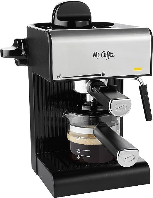 Amazon.com: Mr. Coffee BVMC-ECM180 - Espresso de vapor con ...