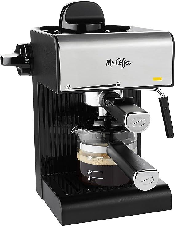 Mr. Coffee BVMC-ECM180 Steam Espresso with Starter Set