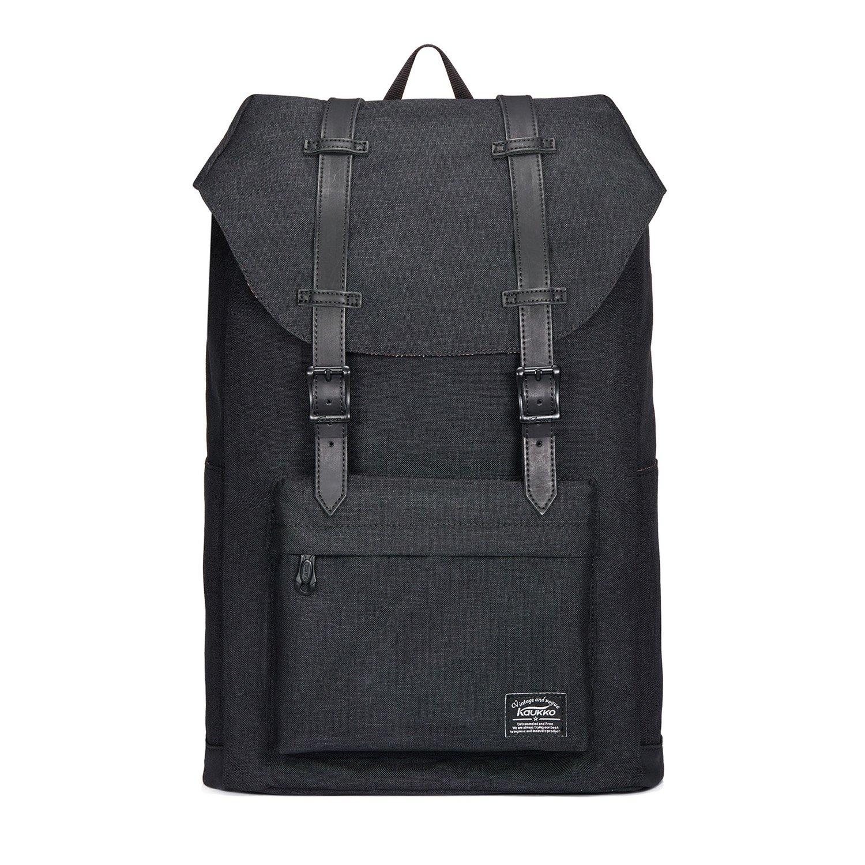 KAUKKO KAUKKO KAUKKO Rucksack Damen Herren Vintage Reiserucksack für 14  Notebook Lässiger Daypacks Schultaschen B06Y38G167 Ruckscke Förderung 2283af