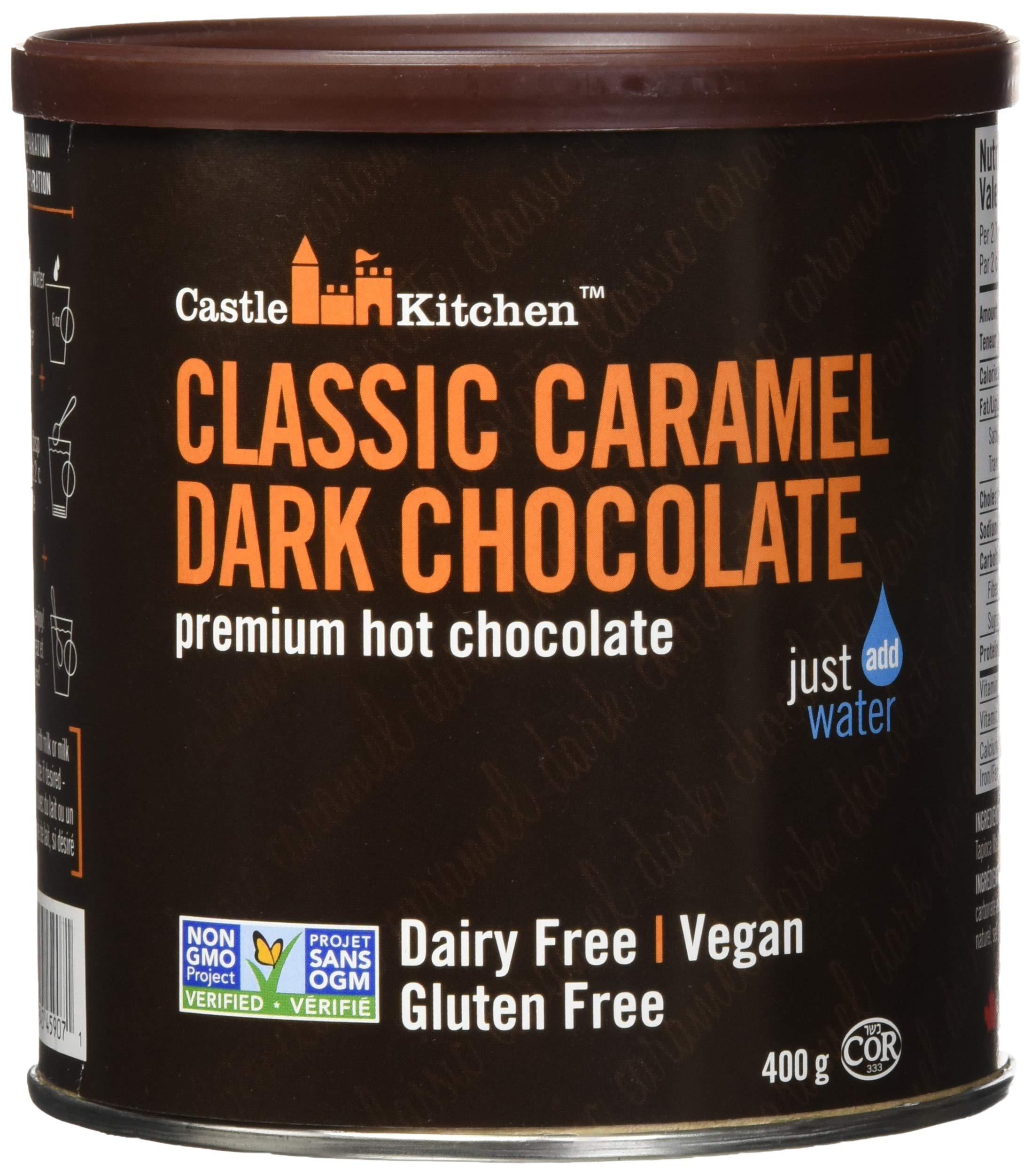 Double Dutch Dark Hot Chocolate Classic Carmel Dark Chocolate Premium Hot Chocolate