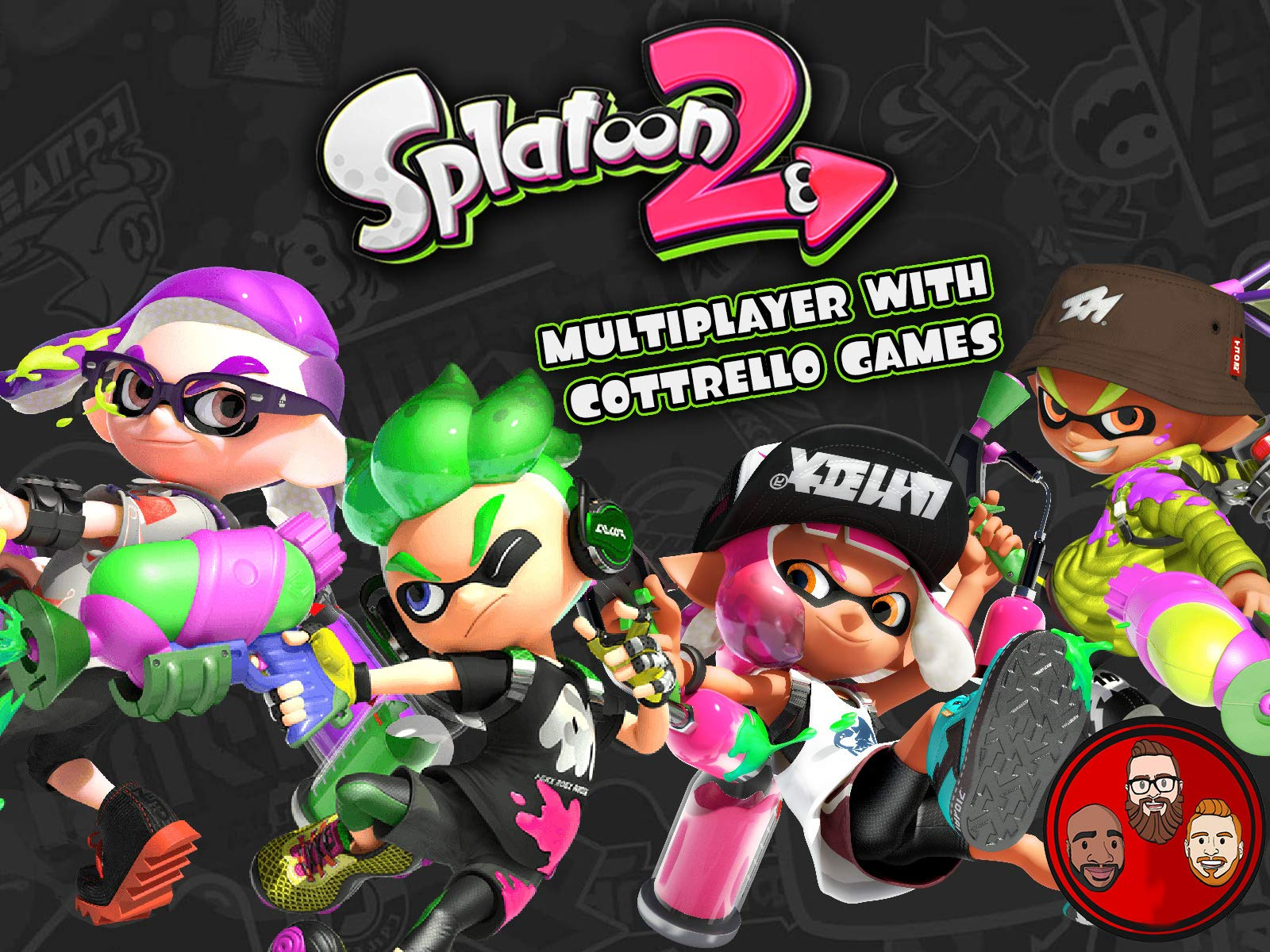 Splatoon 2 Multiplayer with Cottrello Games