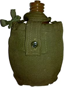SOVIET RUSSIAN USSR ARMY FLASK MILITARY WATER CANTEEN