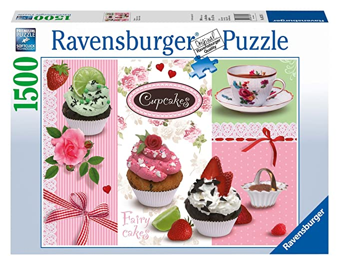 2 opinioni per Ravensburger- 16271 1- Cupcakes. Puzzle 1500 Pezzi