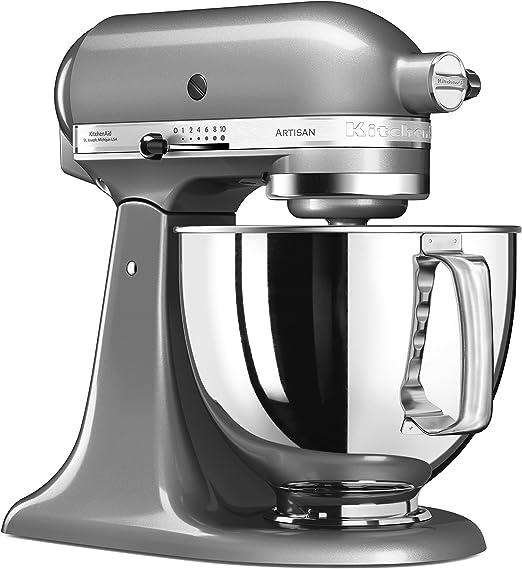 KitchenAid 144281 Robot de Cocina, 300 W, 4.8 litros, 52 ...