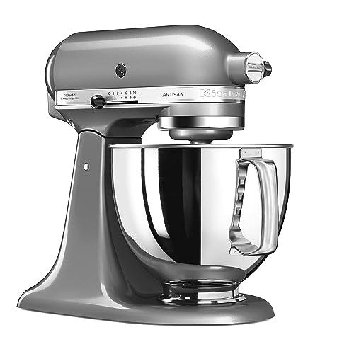 Kitchenaid 5KSM125ECU Robot pâtissier multifonctions Gris Argent 4,8 L 300 W
