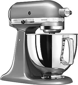 KitchenAid 144281 Robot de Cocina, 300 W, 4.8 litros, 52 Decibelios, Medaillesilber: Amazon.es: Hogar